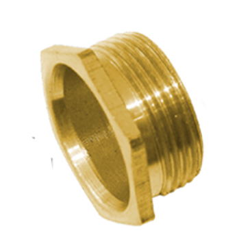 20MM Short Male Bush (Brass)