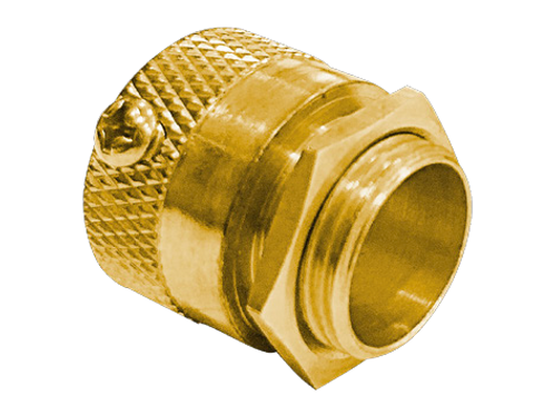 20X58 Brass Adaptor c/w Locknut