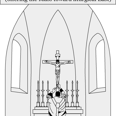 Mass is Always Offered Ad Orientem at Church of the Good Shepherd in Oshawa, ON