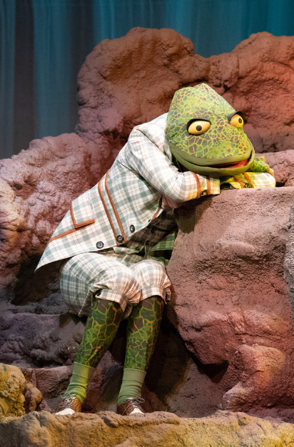 Mr. Toad costume BYU-Idaho The Wind in the Willows