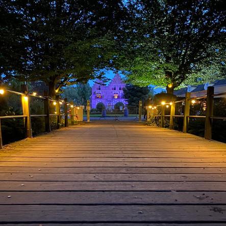 Vosbergen brug licht