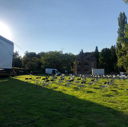 Outdoor cinema Landgoed Vosbergen
