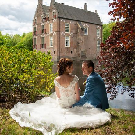 Just married_achterkant Vosbergen