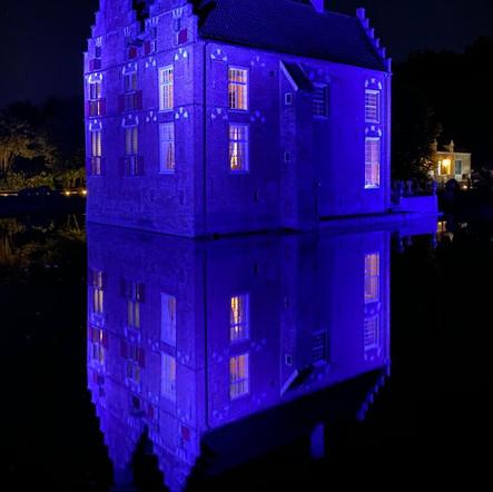 Kasteel Vosbergen Purple Lights