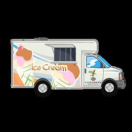 Vesperman Ice cream truck - High Resolut
