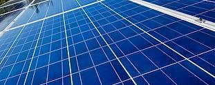 clean solar panel