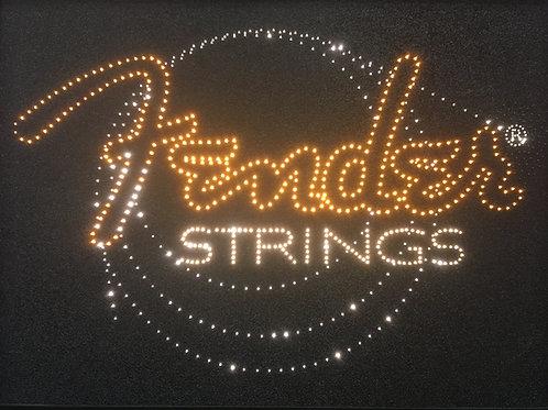Fender Strings Dealer Sign