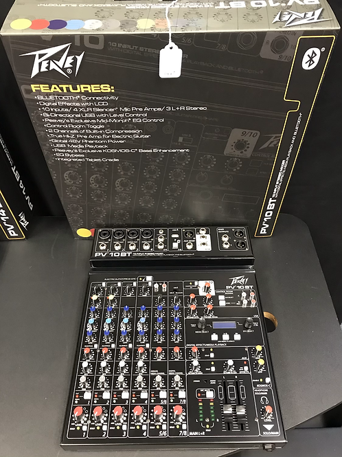 Peavey PV 10 BT Stereo Mixer