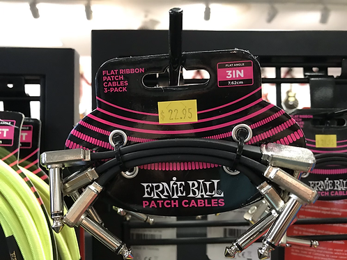 Ernie Ball Patch Cables (3 pack)