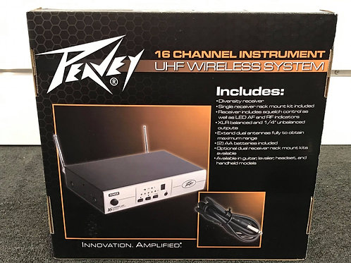 Peavey PV16 UHF Wireless Guitar System