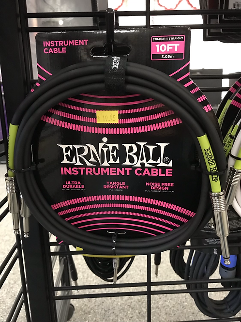 Ernie Ball Instrument Cables