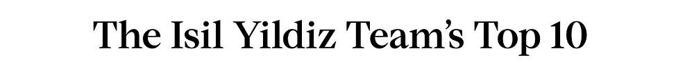 The Isil Yildiz Team's Top 10 Picks in Gramercy