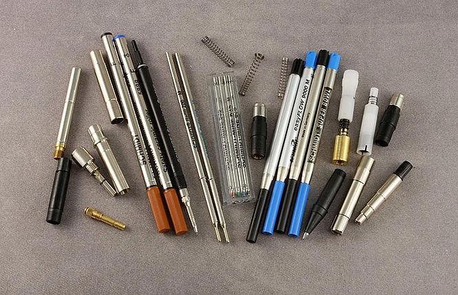 Pen Parts, Pen Clips, Pen Refills