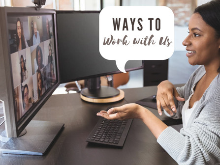 Ways to work with Channer Consulting