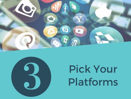 Social Media Tip: Pick Your Platforms