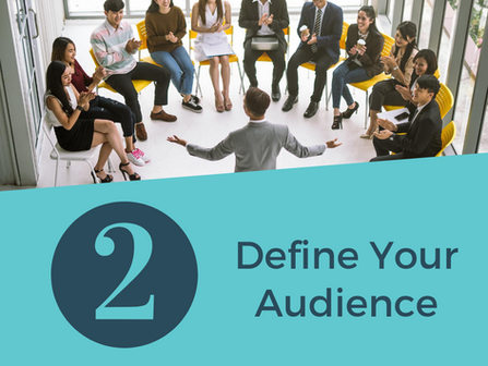 Social Media Tips: Define Your Audience