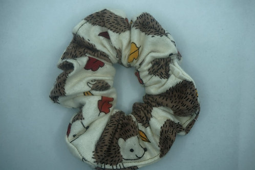 Hedgehog Handmade Scrunchie