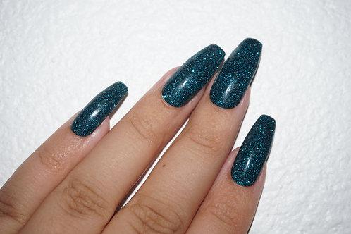 Royal Teal Glitter