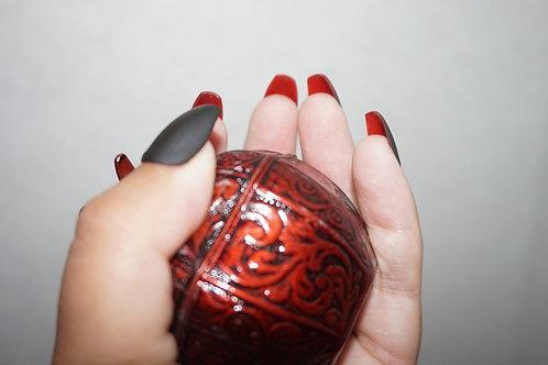 Red Bottoms, Matte Black Top