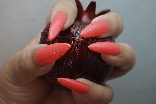 Shimmery Orange