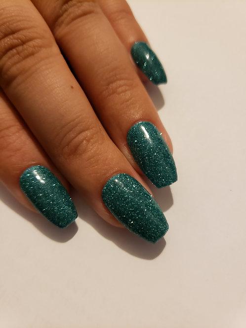 Sea Glass Blue Glitter