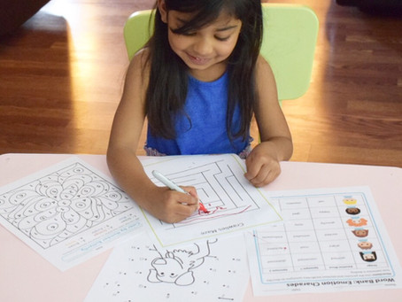 Homeschooling made easy with worksheets