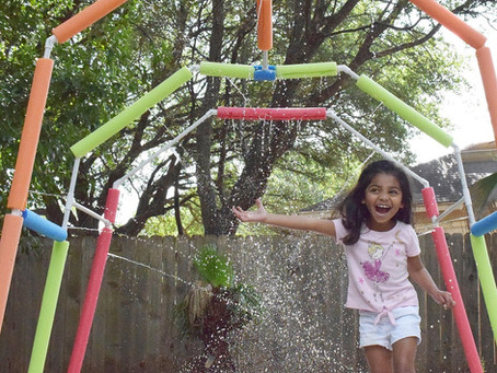 How to build Splash Pad using PVC pipes.