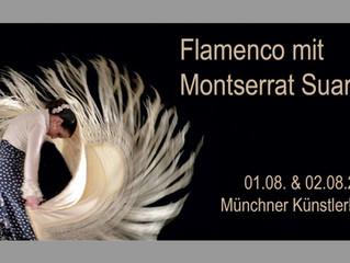 Flamenco mit Montserrat Suarez am 1. und 2. August 2018 im Künstlerhaus München