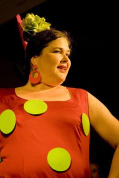 Flamenco mit Lunares