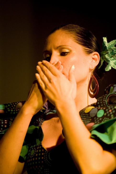 Flamenco mit Lunares Sevillanas gefragt