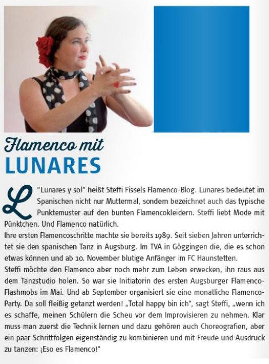 Flamencokurse mit Lunares Augsburg