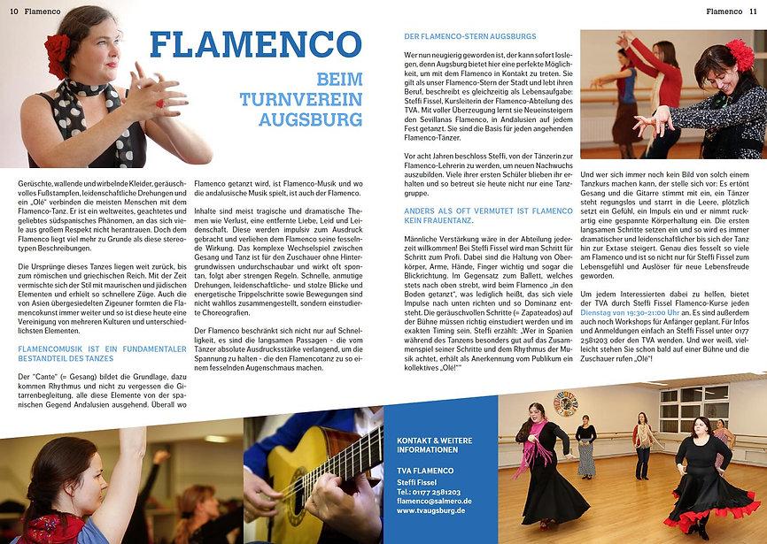 Flamenco mit Lunares Augsburg