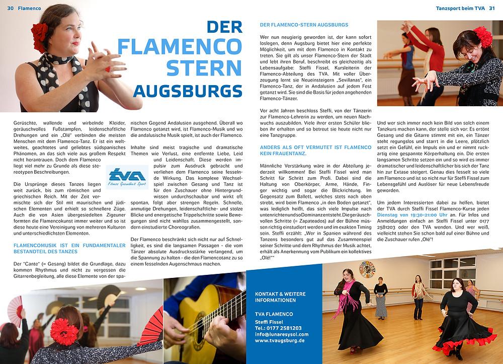 Flamenco in Augsburg mit Steffi Fissel alias Lunares