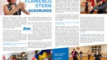 """Flamenco mit Lunares in """"Sport in Augsburg""""-Ausgabe"""