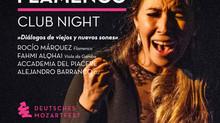 Flamenco-Clubnacht mit Fahmi Alqhai & Rocío Márquez in der mahagoni bar Augsburg am 12. Mai 2018