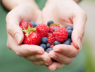 The nutrients within berries