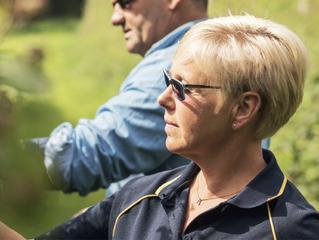 Meet the farmers: Nina Marie Lunde and Rowan Francis.