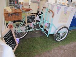 Vintage Ice Cream Bike Essex