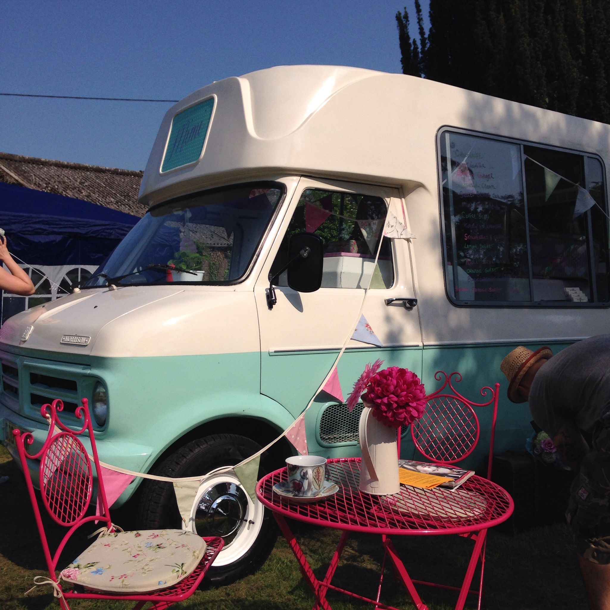 Vintage Ice Cream Van Essex