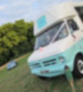 Vintae Ice Cream Van Essex