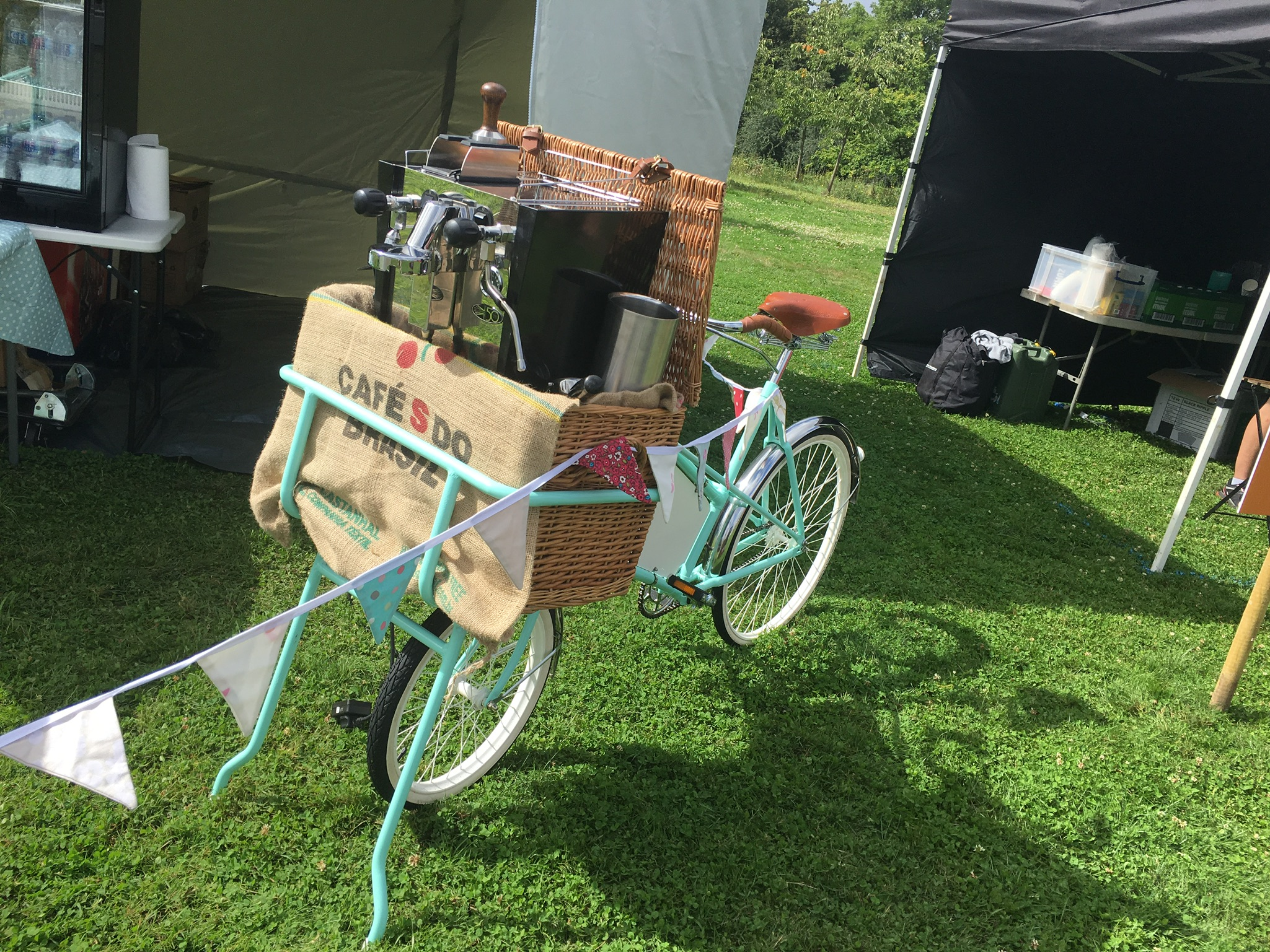 Vintage Espresso Bike Essex