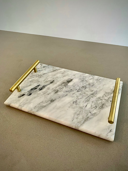 The Crown Marble Platter