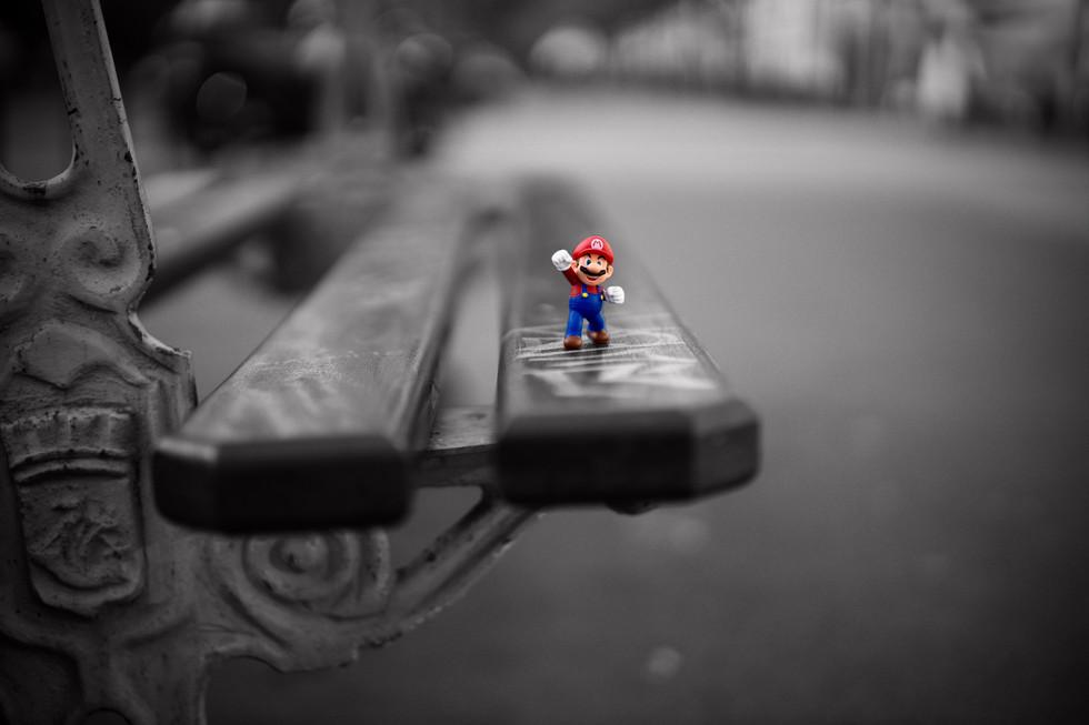 Mario in Paris