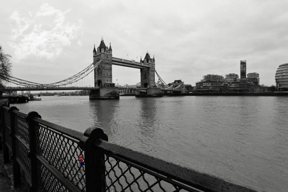 Bowser London tower castle