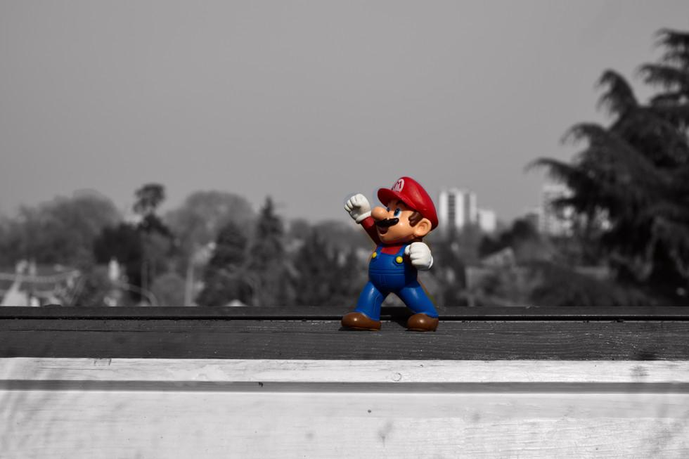 Mario prend la fuite