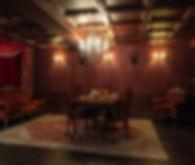 スタジオ内のアンティーク部屋写真