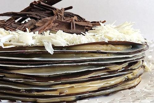 Torta mil hoja chocolate