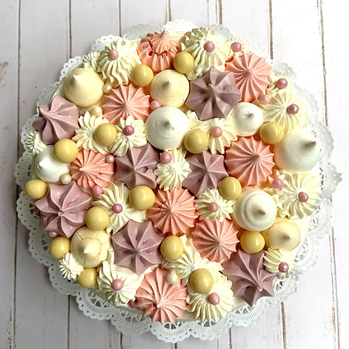Torta merengue sabor a elección