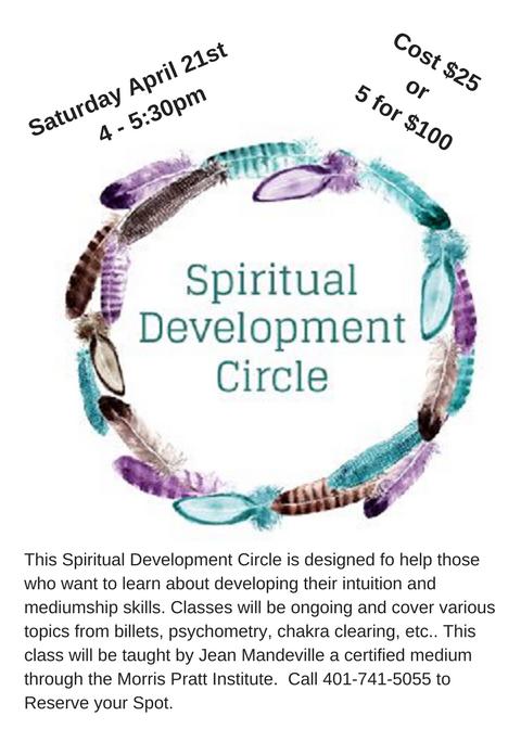 Spiritual (intuitive) Development Circle