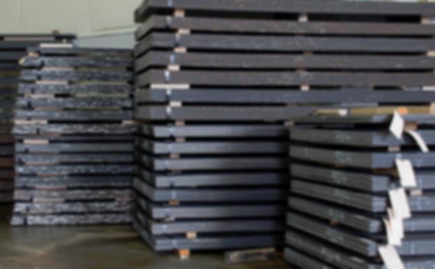 Steel sheet stocking